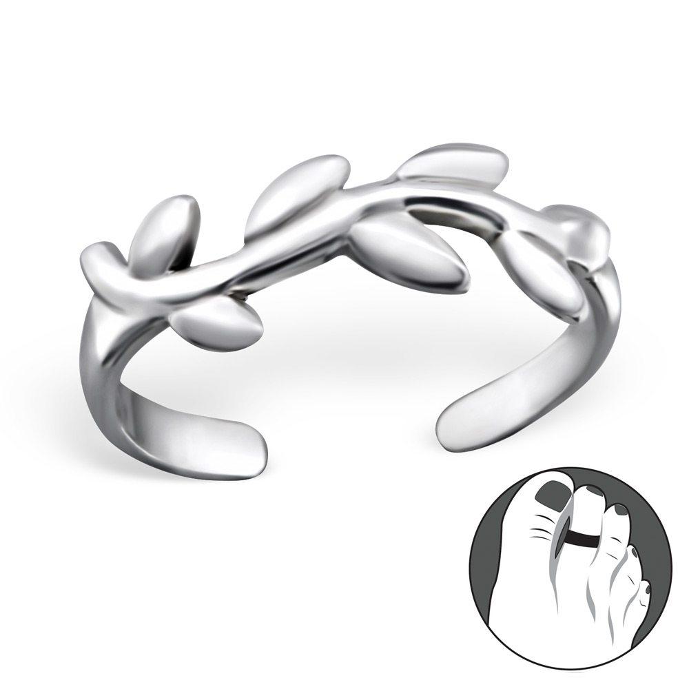 OLIVIE - stříbrný prsten 0157